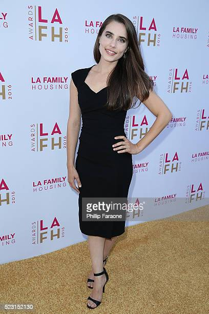 Alix Angelis attends LA Family Housing's Annual Awards 2016 at The Lot on April 21 2016 in West Hollywood California