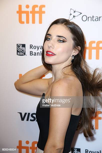 Alix Angelis attends the TIFF Soiree honoring Michael Fassbender at the TIFF BELL Lightbox on September 7 2016 in Toronto Canada