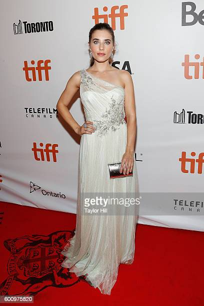 Alix Angelis attends the world premiere of The Magnificent Seven during the 2016 Toronto International Film Festival at Roy Thomson Hall on September...
