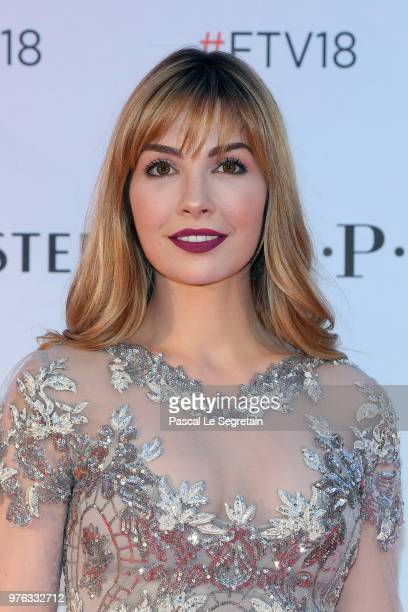 Alix Benezech attends Soiree Serie TV during the 58th Monte Carlo TV Festival on June 16 2018 in MonteCarlo Monaco
