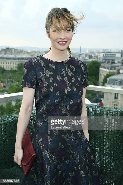 Alix Benezech attends the 5th Champs Elysees Film Festival Opening Ceremony at Drugstore Publicis on June 7 2016 in Paris France