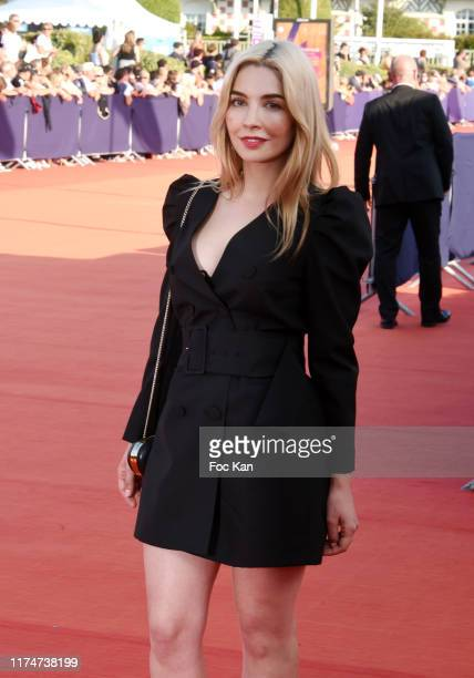 Alix Benezech attends the Award Ceremony during the 45th Deauville American Film Festival on September 14 2019 in Deauville France