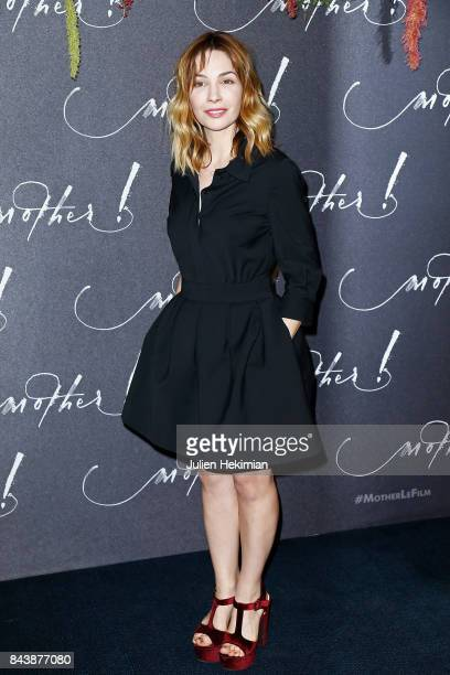 Alix Benezech attends the French Premiere of mother at Cinema UGC Normandie on September 7 2017 in Paris France