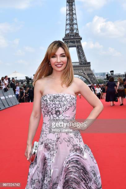 Alix Benezech attends the Global Premiere of 'Mission Impossible Fallout' at Palais de Chaillot on July 12 2018 in Paris France