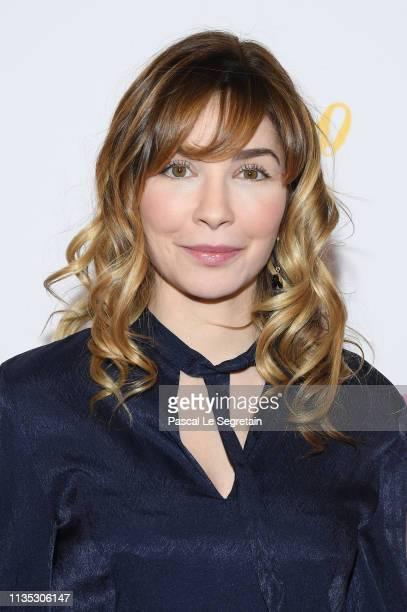 Alix Benezech attends the 'Mon Bebe' Paris Premiere At Cinema Gaumont on March 11 2019 in Paris France