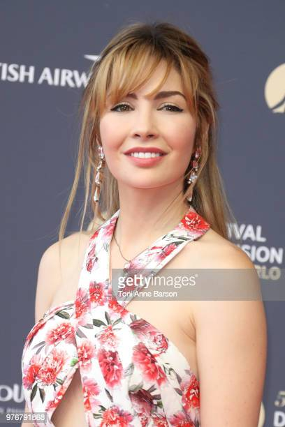 Alix Benezech attends the opening ceremony of the 58th Monte Carlo TV Festival on June 15 2018 in MonteCarlo Monaco