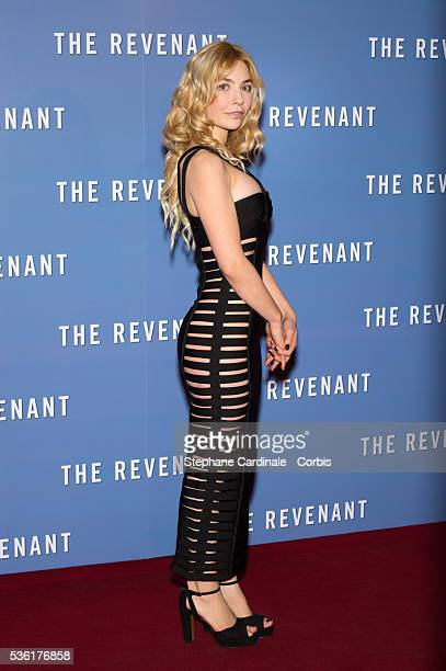 Alix Benezech attends the 'Revenants' Premiere at Le Grand Rex on January 18 2016 in Paris France