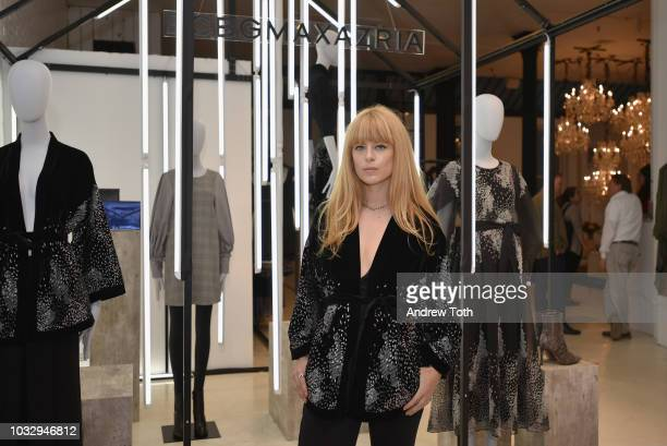 Alix Brown attends the celebration of the BCBGMAXAZRIA SoHo store opening with Kate Young Bernd Kroeber and InStyle on September 13 2018 in New York...