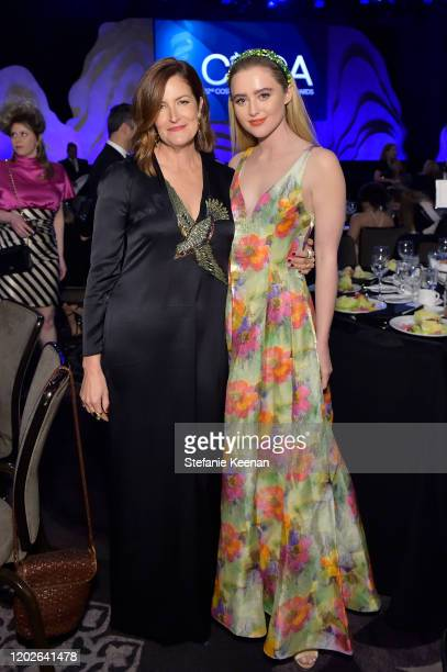Alix Friedberg and Kathryn Newton attend the 22nd CDGA at The Beverly Hilton Hotel on January 28 2020 in Beverly Hills California