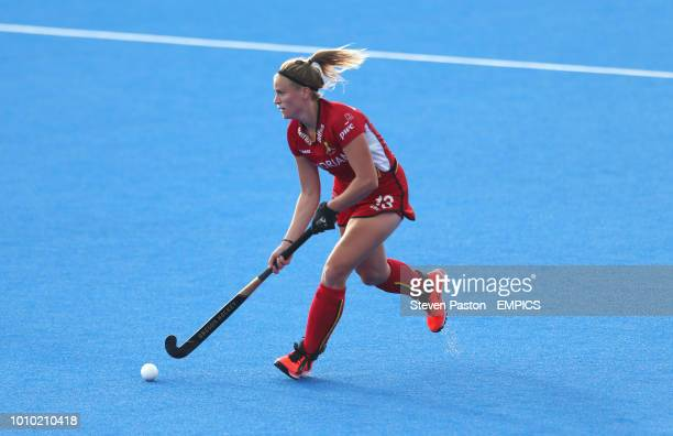 Alix Gerniers Belgium Belgium v Spain Women's Hockey World Cup 2018 Crossover Stage Lee Valley Hockey Tennis Centre