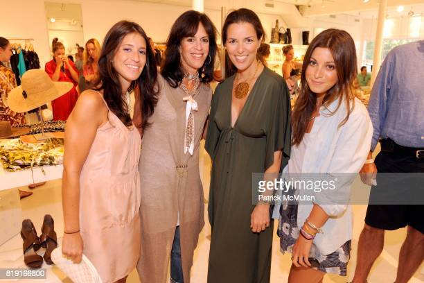 Alix Jurick Lisa Jurick Ann Caruso and Jamie Schneider attend SCOOP Beach Hosts JOANNE SALT'S New Collection JOSA TULUM at Scoop Beach on July 24th...