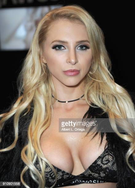 Alix Lynx attends the 2018 AVN Adult Entertainment Expo at the Hard Rock Hotel Casino on January 26 2018 in Las Vegas Nevada