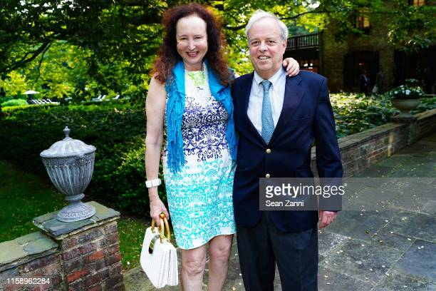 Alix Michel and Van Cushny attend A Country House Gathering To Benefit Preservation Long Island on June 28 2019 in Locust Valley New York