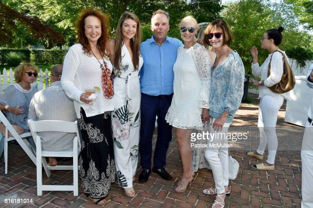 Alix Michel Nicole Noonan Mark Martiak Angela Rapoport and Lee Fryd attend the Private Hamptons Preview of The RitzCarlton Residences Sunny Isles...