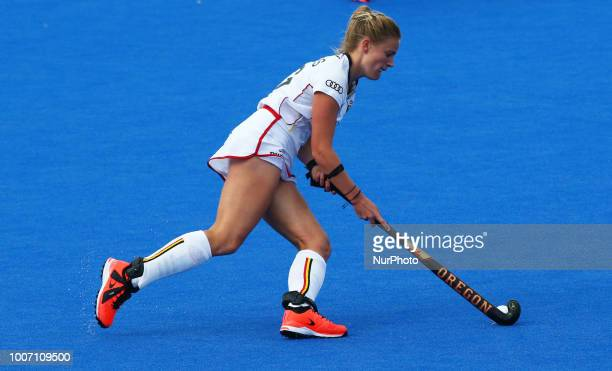 Alix of Belgium during FIH Hockey Women's World Cup 2018 Day Seven match Pool D game 19 between Japan and Belgium at Lee Valley Hockey amp Tennis...