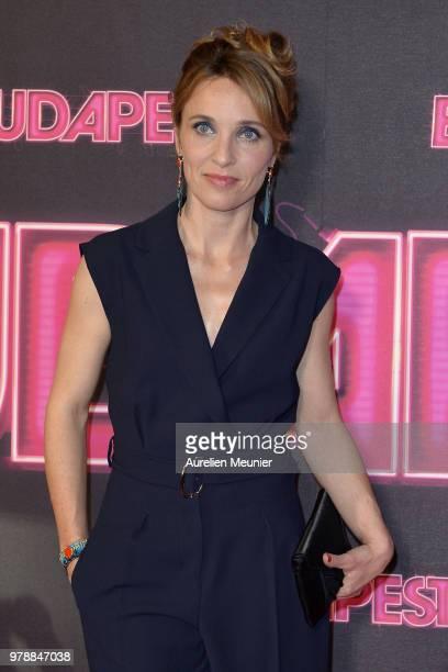 Alix Poisson attends the Budapest Paris premiere at cinema Gaumont Opera on June 19 2018 in Paris France
