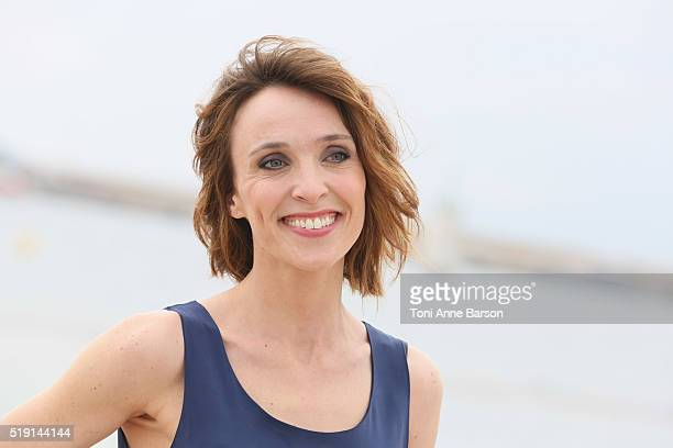 Alix Poisson attends The Collection Photocall as part of MIPTV 2016 on April 4 2016 in Cannes France