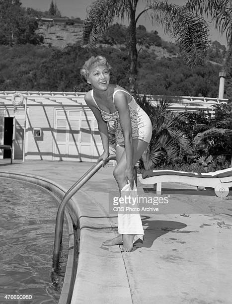 Alix Talton television and movie actress often heard on the CBS Radio series December Bride at the Bel Air Hotel in Los Angles California Pictured...
