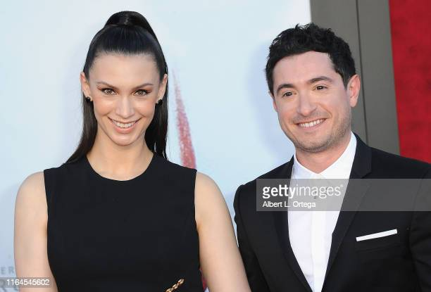 Alixandra von Renner and Jason Fuchs arrive for the Premiere Of Warner Bros Pictures' It Chapter Two held at Regency Village Theatre on August 26...