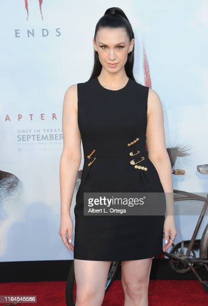 Alixandra von Renner arrives for the Premiere Of Warner Bros Pictures' It Chapter Two held at Regency Village Theatre on August 26 2019 in Westwood...