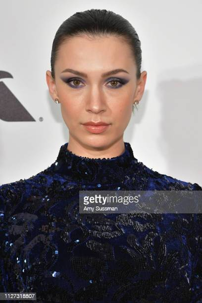 Alixandra von Renner attends the 27th annual Elton John AIDS Foundation Academy Awards Viewing Party celebrating EJAF and the 91st Academy Awards on...
