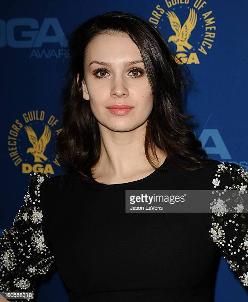 Alixandra von Renner attends the 65th annual Directors Guild Of America Awards at The Ray Dolby Ballroom at Hollywood Highland Center on February 2...