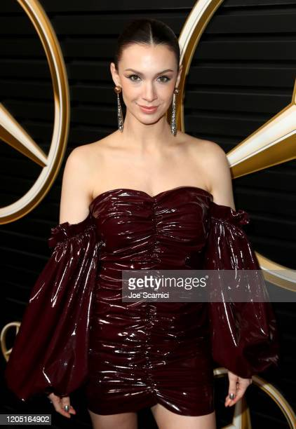 Alixandra von Renner attends the MercedesBenz Academy Awards Viewing Party at The Four Seasons Hotel Los Angeles at Beverly Hills on February 09 2020...
