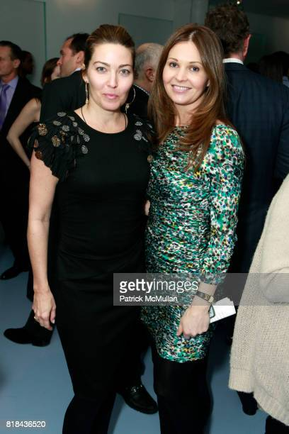 Alixe Boyer and Abigail Klem attend KIPP NYC Cocktails With MALCOLM GLADWELL and DIANE VON FURSTENBERG at Diane von Furstenberg Store on January 20...