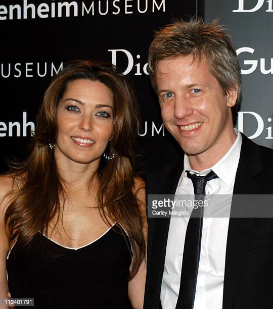 Alixe Boyer and Matthew Ritchie during Dior Sponsors the Solomon R Guggenheim Museum's Young Collectors Council Artist's Ball Honoring Matthew...