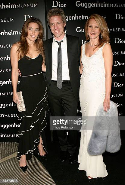 Alixe Boyer Artist Mathew Ritchie and Marla Sabo President of Dior USA attend the Solomon R Guggenheim Museum's Young Collectors Council Artists Ball...