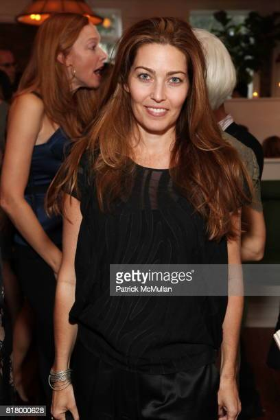 Alixe Boyer attends GLAMOUR Welcomes Anne Christensen As New Fashion Director at Peels Restaurant on September 9 2010 in New York