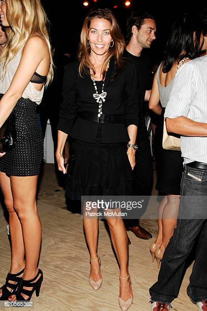 Alixe Boyer attends INTERVIEW Party to Celebrate 'A New Look' at The Standard on September 4 2008 in New York City