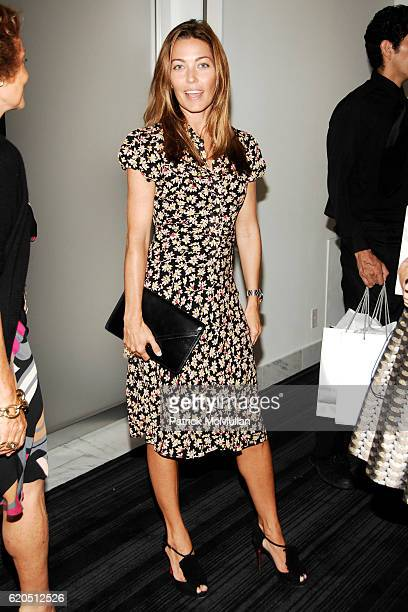 Alixe Boyer attends WSJ Launch Party with CFDA on September 5 2008 in New York City