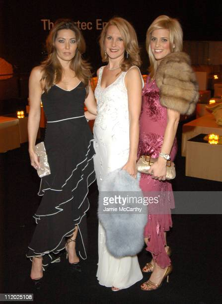 Alixe Boyer Marla Sabo and Ali Wise during Dior Sponsors Artist's Ball Honoring Matthew Ritchie Red Carpet and Inside at Guggenheim Museum in New...