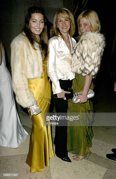 Alixe Boyer Marla Sabo and Ali Wise during Frick Young Fellows Annual Ball Sponsored by Carolina Herrera at Frick Museum in New York City New York...