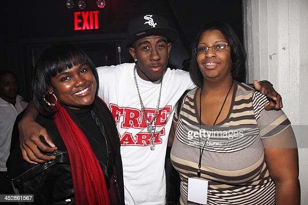 Aliya Crawford DJ Jus and Lori McNeil attend Bow Wow's New Jack City II album release party at Santos Party House on March 31 2009 in New York City