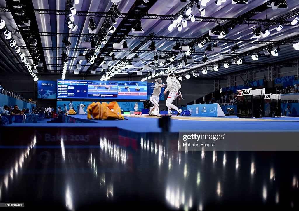 Fencing Day 13: Baku 2015 - 1st European Games : News Photo