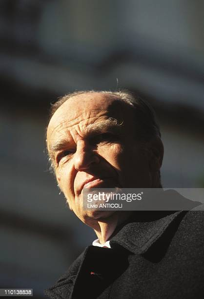 Aliza Izetbegovic in Sarajevo Bosnia And Herzegovia on April 14 1997