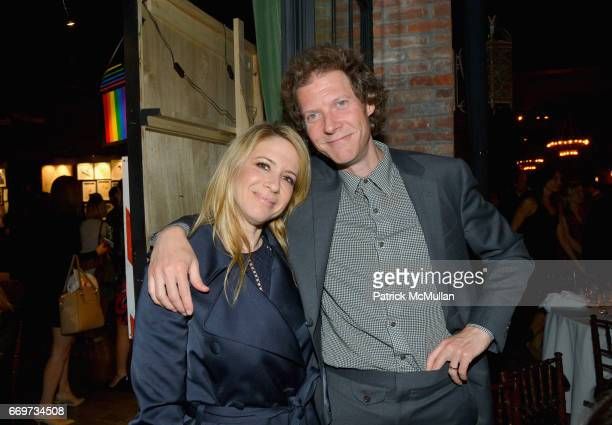 Aliza Pressman and Jake Paltrow attend The Turtle Conservancy's 4th Annual Turtle Ball at The Bowery Hotel on April 17 2017 in New York City