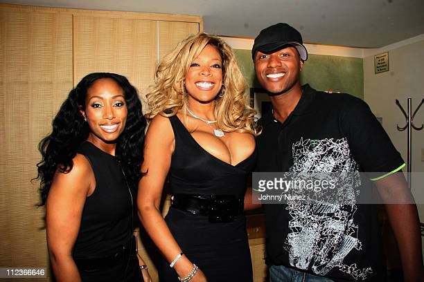 Alize Brand Director Michelle Murray Wendy Williams and Javier Colon