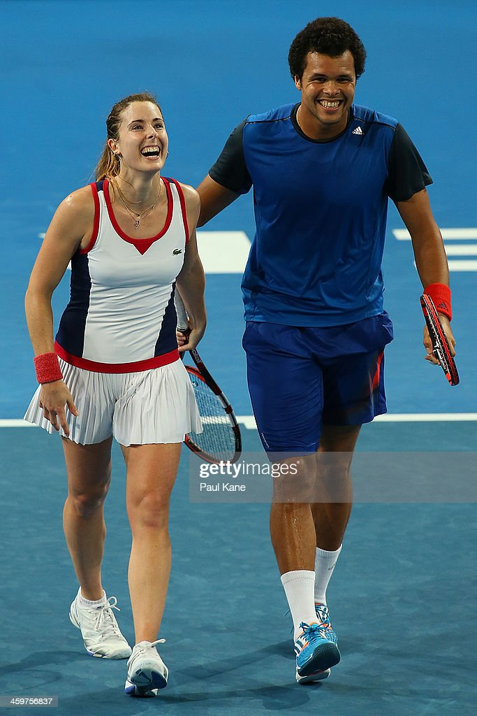 2014 Hopman Cup -  Day 3 : News Photo
