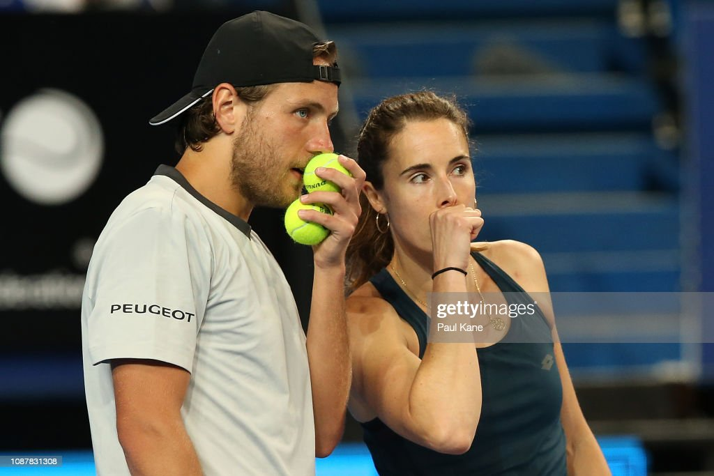 2019 Hopman Cup - Day 1 : News Photo
