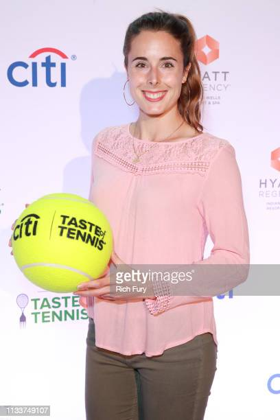 Alize Cornet attends the Citi Taste Of Tennis Indian Wells on March 04 2019 in Indian Wells California