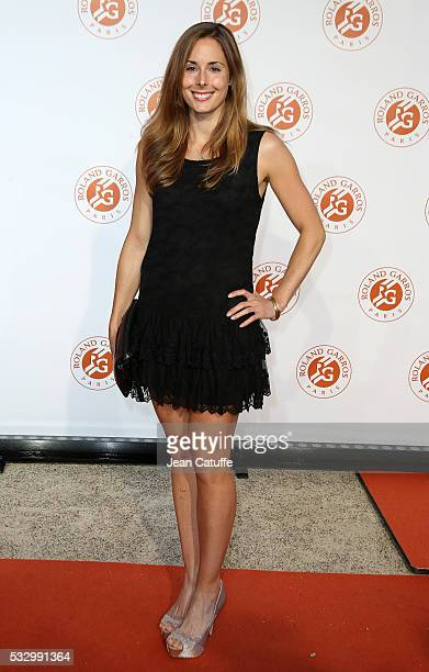 Alize Cornet of France attends the 2016 French Open Players' Party held at the Petit Palais on May 19 2016 in Paris France