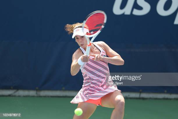 Alize Cornet of France on Day Two of the 2018 US Open at Flushing Meadows Corona Park on August 28 2018 in New York City