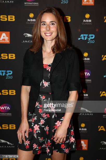 Alize Cornet of France poses for a photograph during the 2020 ASB Classic Players Party at Soul Bar on January 05 2020 in Auckland New Zealand