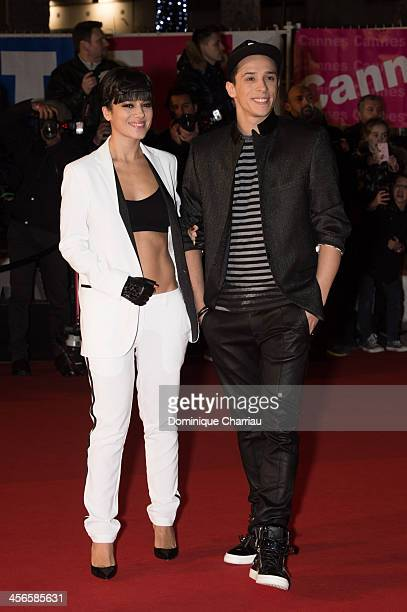 Alizee and Gregoire Lyonnet arrive at the 15th NRJ Music Awards at Palais des Festivals on December 14 2013 in Cannes France