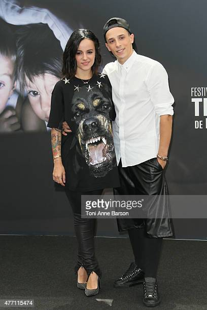 Alizee and Gregoire Lyonnet attend photocall for Dance with the Stars at the Grimaldi Forum on June 14 2015 in MonteCarlo Monaco