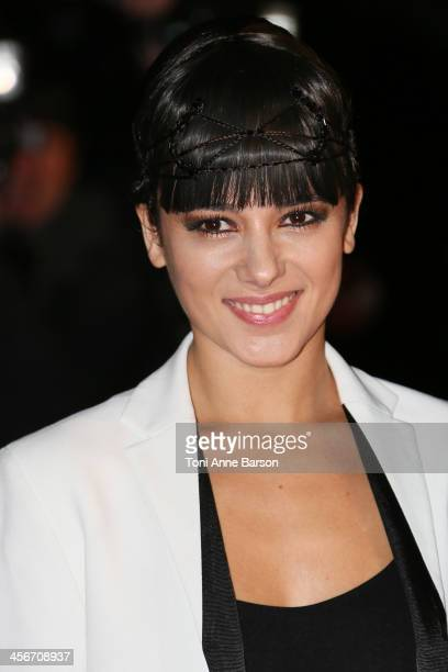 Alizee arrives at the 15th NRJ Music Awards at the Palais des Festivals on December 14 2013 in Cannes France