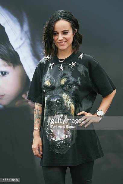 Alizee attends photocall for Dance with the Stars at the Grimaldi Forum on June 14 2015 in MonteCarlo Monaco